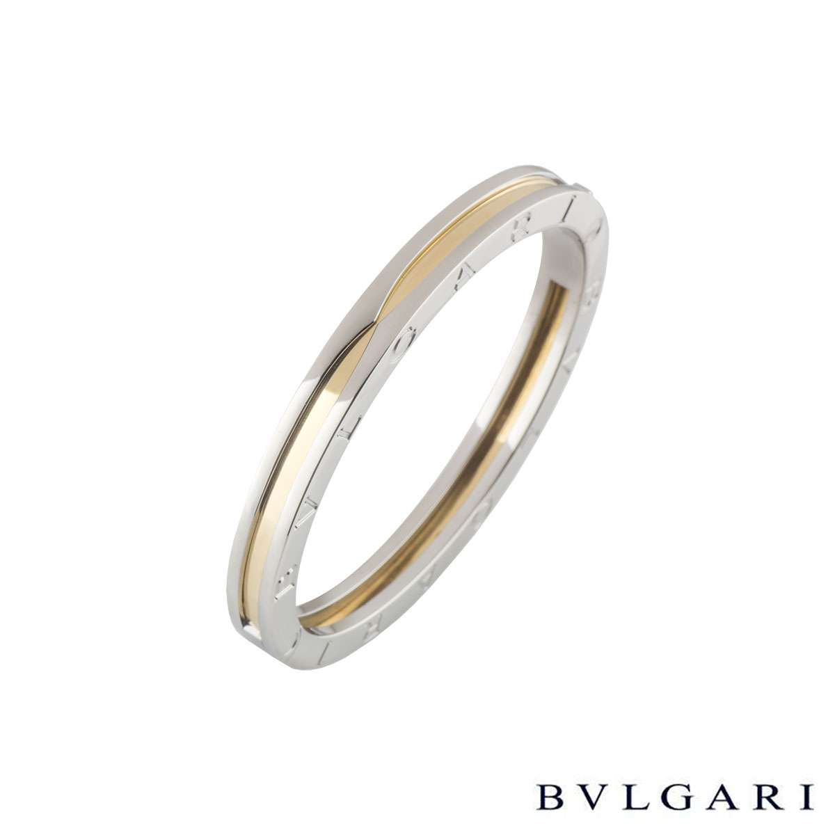 BvlgariSteel & Yellow Gold B.zero1 BraceletBR851334